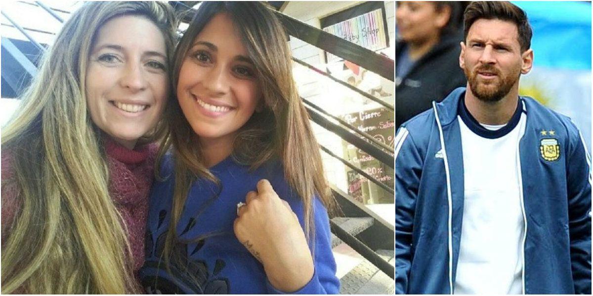 Con Messi en Estados Unidos, Antonella Roccuzzo se relaja en un shopping en Rosario