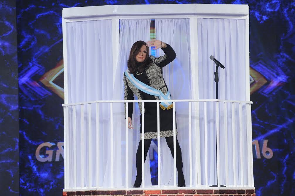 Fátima Flórez volvió a imitar a Cristina Kirchner: mirá su ingreso a Gran Cuñado