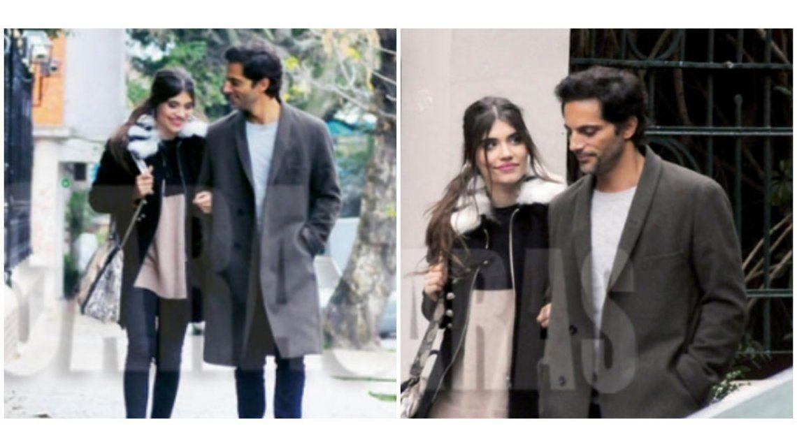 Eva de Dominici confirmó su romance con Furriel con una foto a los besos