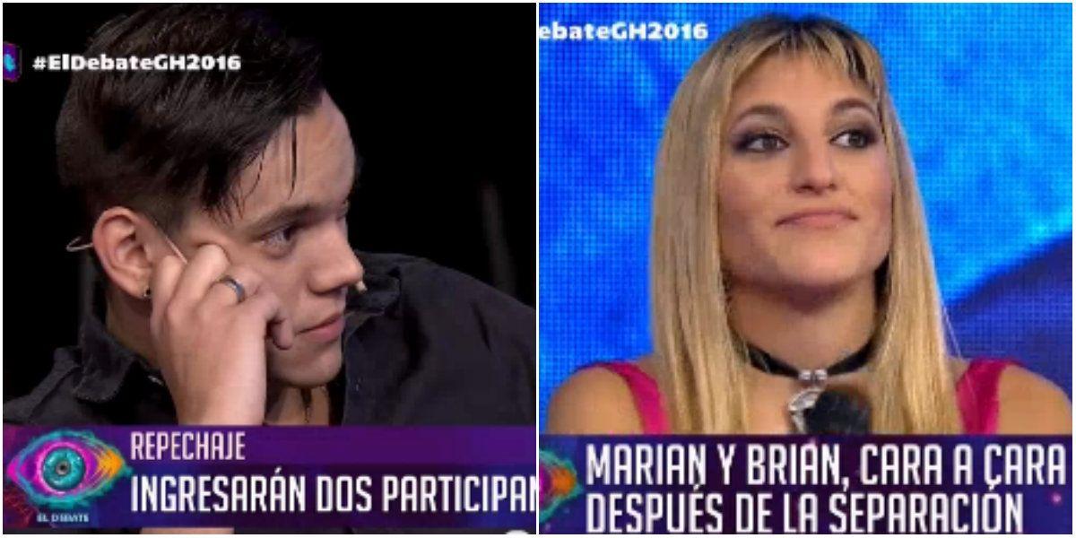 Tenso cruce de Marian y Brian tras la pelea: risas de ella y respuesta letal de él