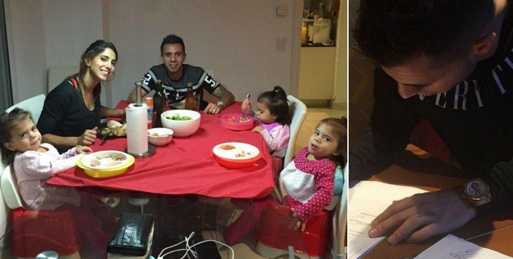 ¿Se va con Cinthia Fernández y sus hijas? Matías Defederico firmó contrato en India