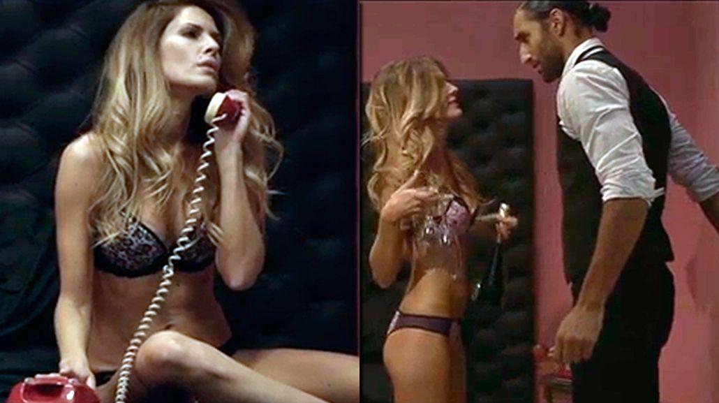 El video sensual de Isabel Macedo, actuando en lencería