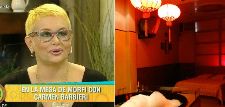 La desopilante anécdota de Carmen Barbieri en un hotel transitorio con un reconocido cómico