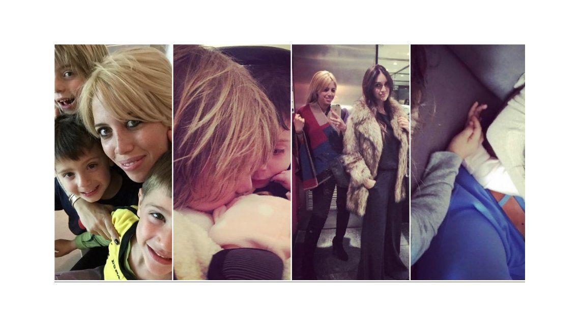 Wanda Nara sigue de gira por Argentina: noche de shopping con sus hijos, visita a Zaira Nara y tarde de primos