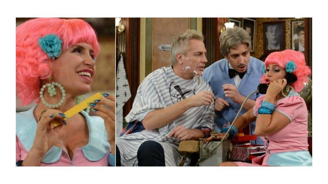 Con un divertido guiño de Marley a Florencia Peña por su video hot, empezó La Peluquería de Don Mateo