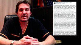El descargo de Aníbal Lotocki: Tan bajo se puede caer por dos segundos de cámara