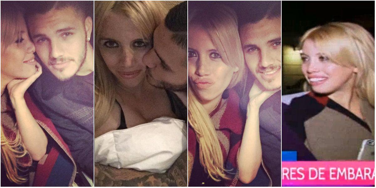 La respuesta de Wanda Nara y Mauro Icardi ante los fuertes rumores de embarazo y guiño en Twitter: Icardeame