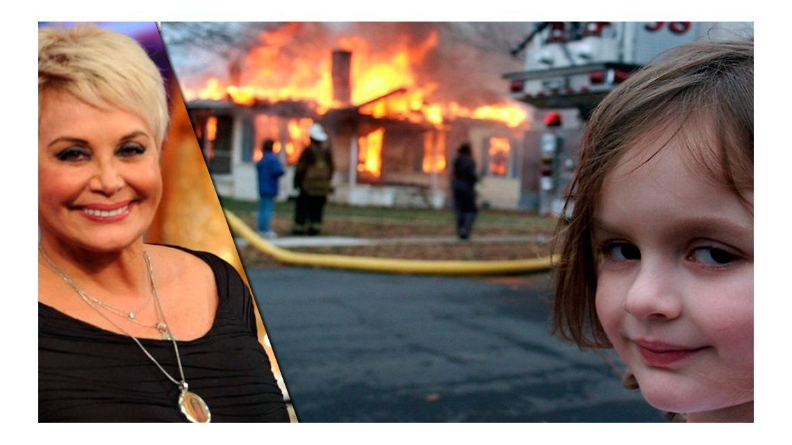 Los memes y los fulminantes tuits de Carmen Barbieri contra Barbie Vélez