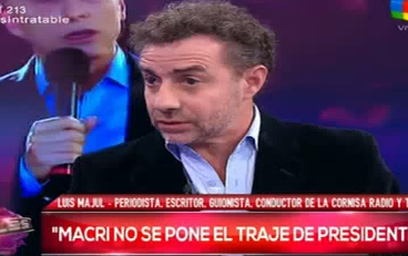 Fuerte cruce entre Carlos Polimeni, Luis Majul y Del Moro en Intratables