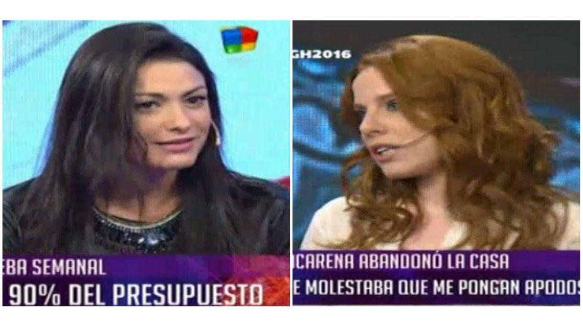 Agustina Kämpfer, irónica con Macarena por su sensualidad: ¿Y cuándo bajaste la escalera en tanga también estabas durmiendo?