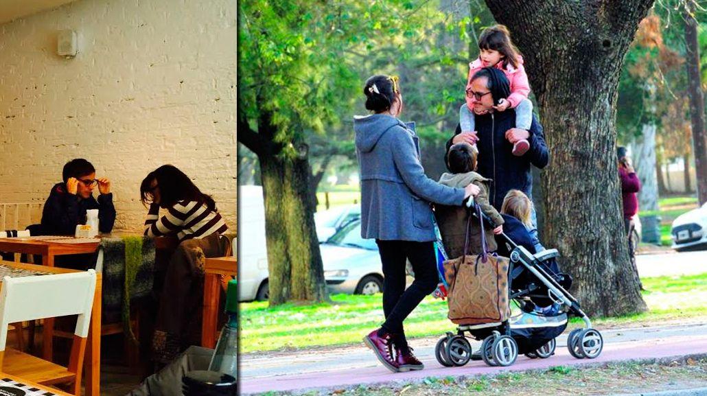 Gael García Bernal, de paseo en Buenos Aires con su nueva novia