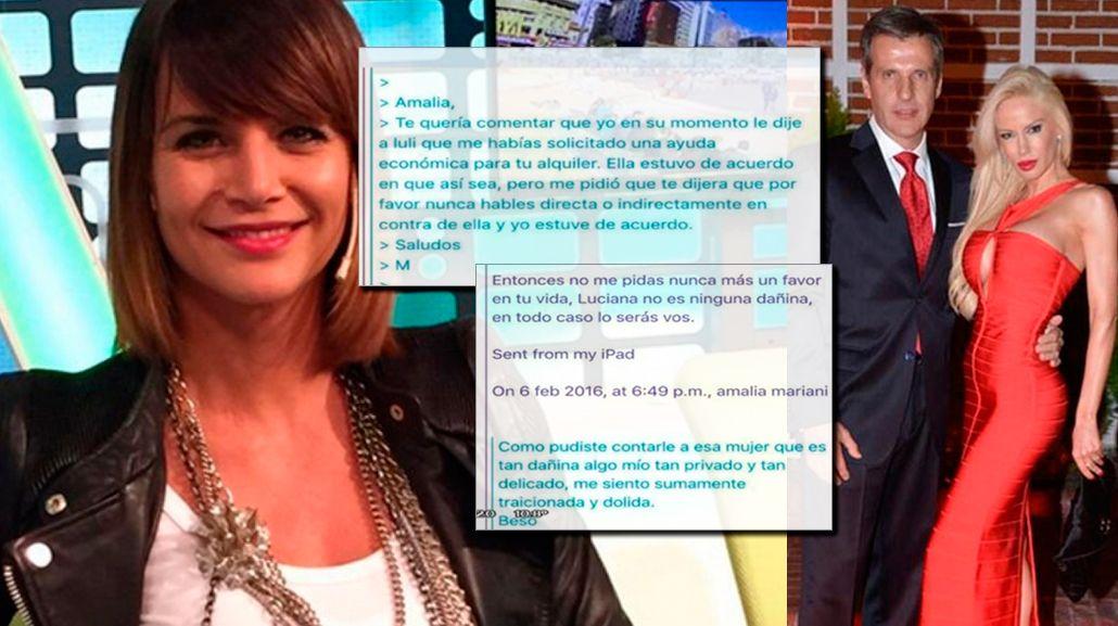 Amalia Granata: Luciana Salazar no está bien; le hackeó las cuentas a Martín Redrado