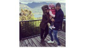 Las románticas vacaciones de Tamara Alves con Toranzo y su hija en Bariloche