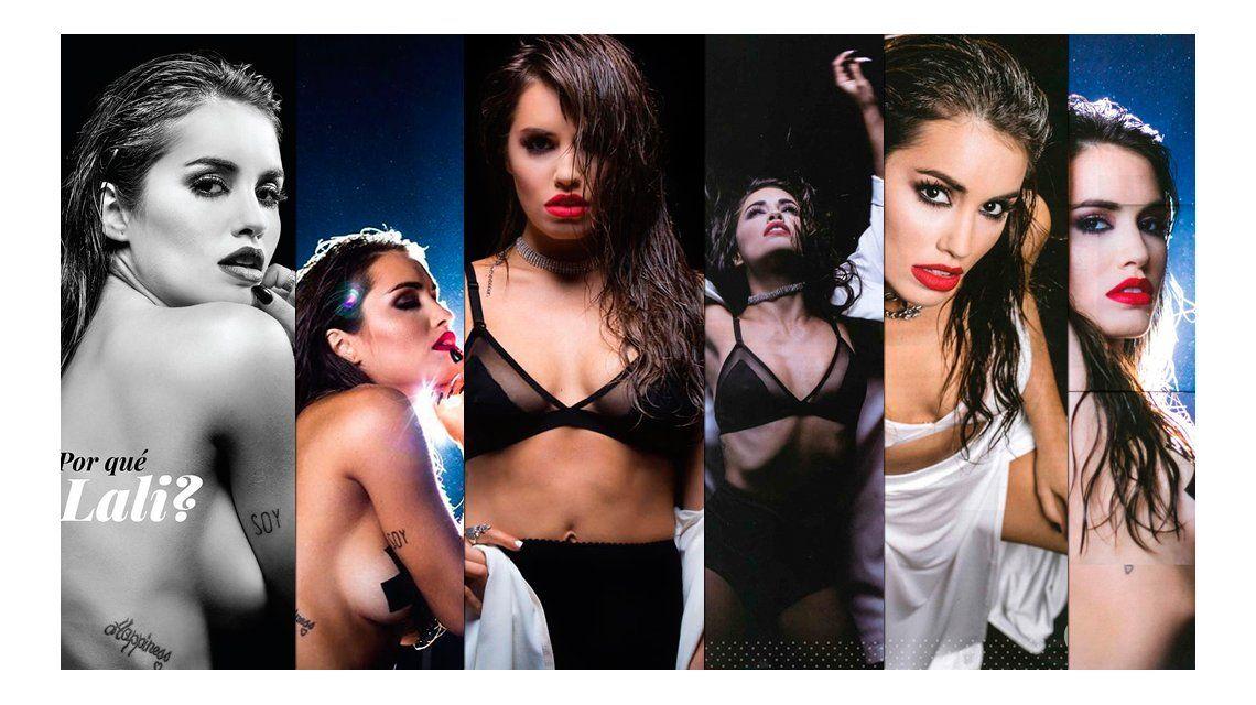 Todas las fotos del destape de Lali Espósito: topless, sensualidad y desenfado