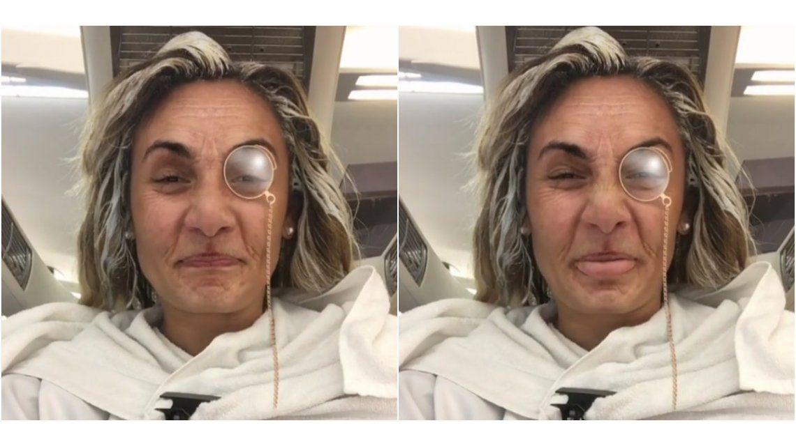 ¡Irreconocible! El desopilante video de Rocio Oliva en la peluquería