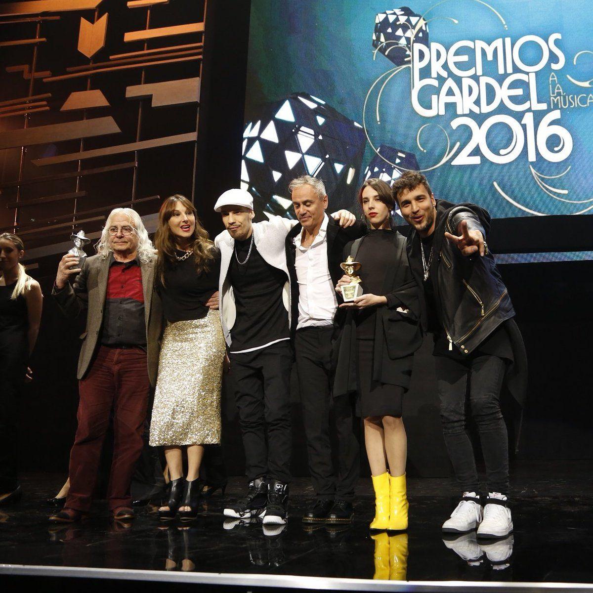 Premios Gardel 2016: el Oro y todos los ganadores