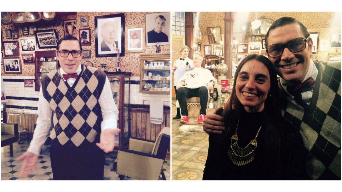 Matías Alé volvió al ruedo: las fotos de su personaje en La peluquería de Don Mateo