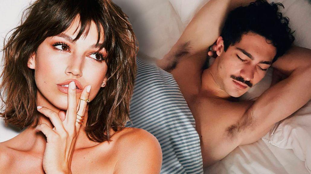 La novia del Chino Darin, Úrsula Corberó, publicó una foto del actor en la cama