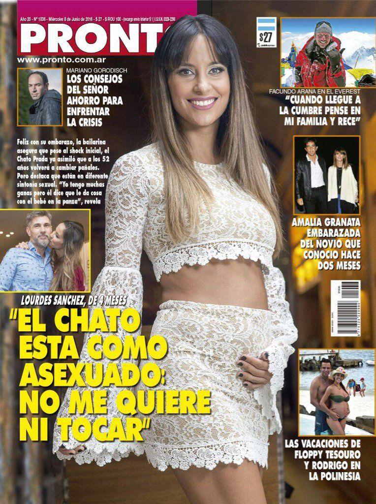El Chato está como asexuado, reveló Lourdes Sánchez y Marcelo Tinelli respondió con chicanas en Twitter