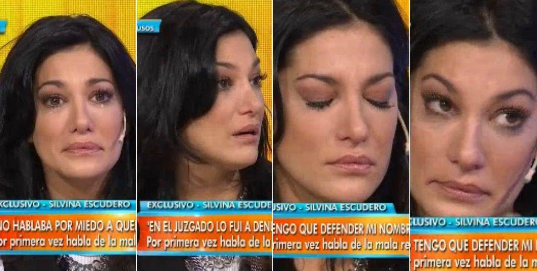 Fuerte descargo de Silvina Escudero en vivo: Si me muero, no quiero que me recuerden por las cosas malas que dijeron de mi