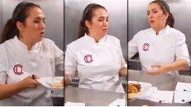 Dueños de la cocina: el fuerte enojo de Narda Lepes ¡por el cerdo crudo!