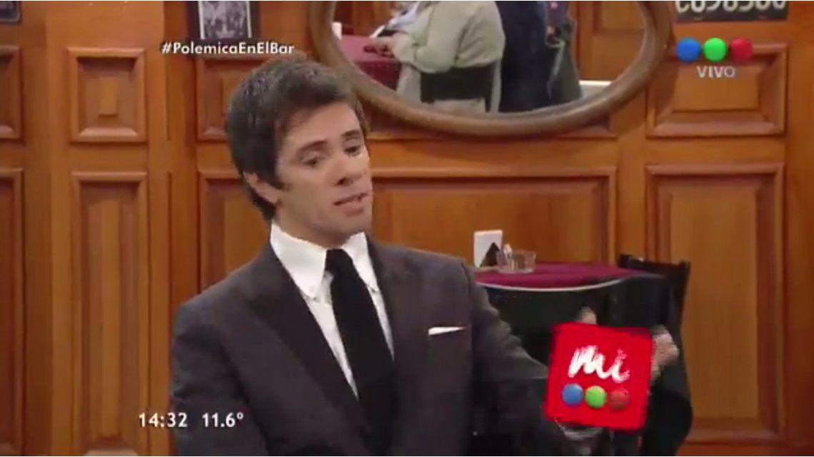Mirá la divertida participación de Robertito Funes en Polémica en el Bar