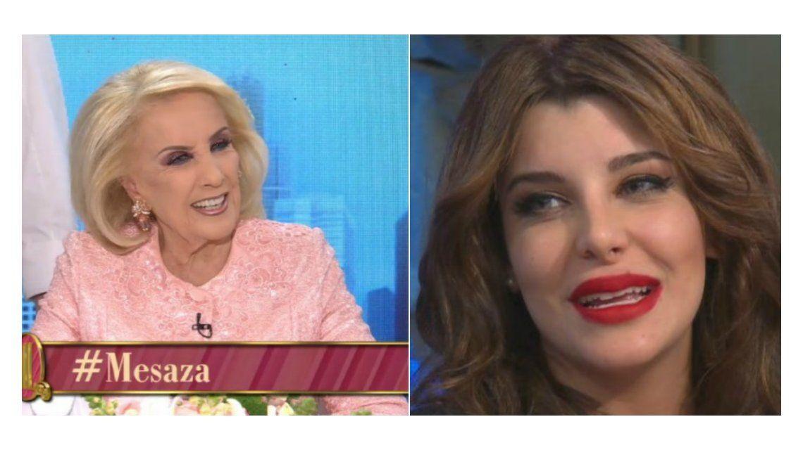 Charlotte Caniggia, incómoda en lo de Mirtha Legrand: preguntas sobre sus cirugías y el sobrepeso
