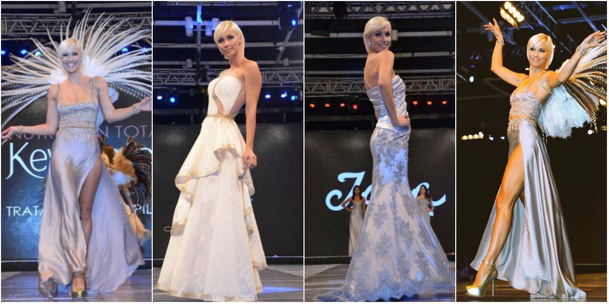 Ingrid Grudke, diosa en el desfile Moda Coiffeur 2016