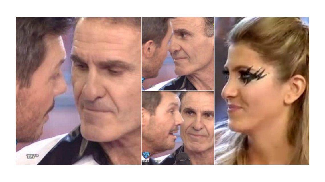 Oscar Ruggeri debutó en el Bailando y amenazó a Tinelli por Candela: Te voy a c... a trompadas