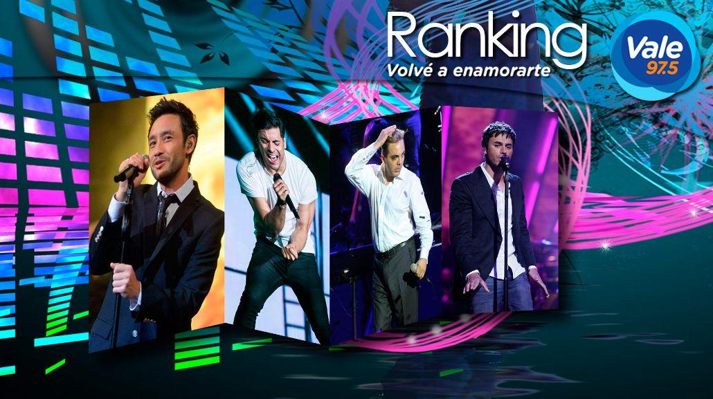 El ranking Vale 97.5 de esta semana