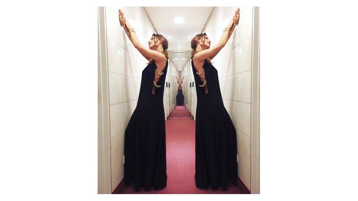 Escandalosa foto de Pampita donde se le ven las costillas: fuertes críticas de sus fans en las redes