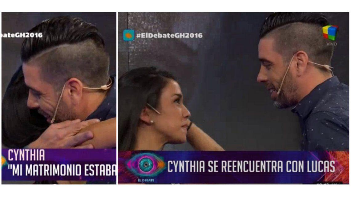 La incómoda situación de Cynthia en el Debate: habló de volver con su marido y luego se reencontró con Lucas