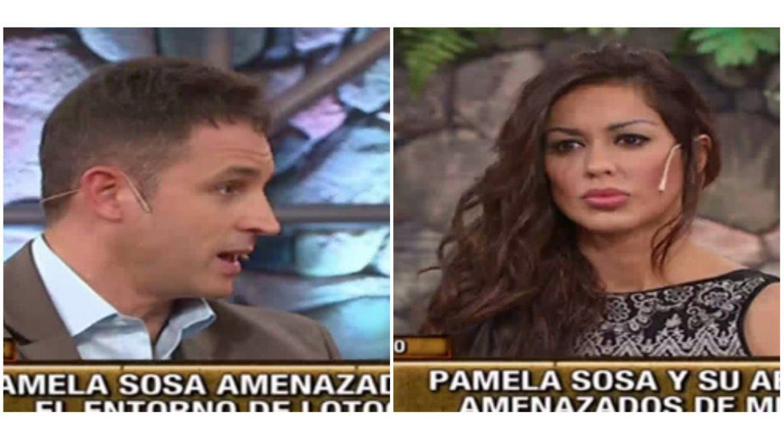Pamela Sosa y su abogado mostraron un audio con fuertes amenazas: Van a terminar con un tiro en la cabeza