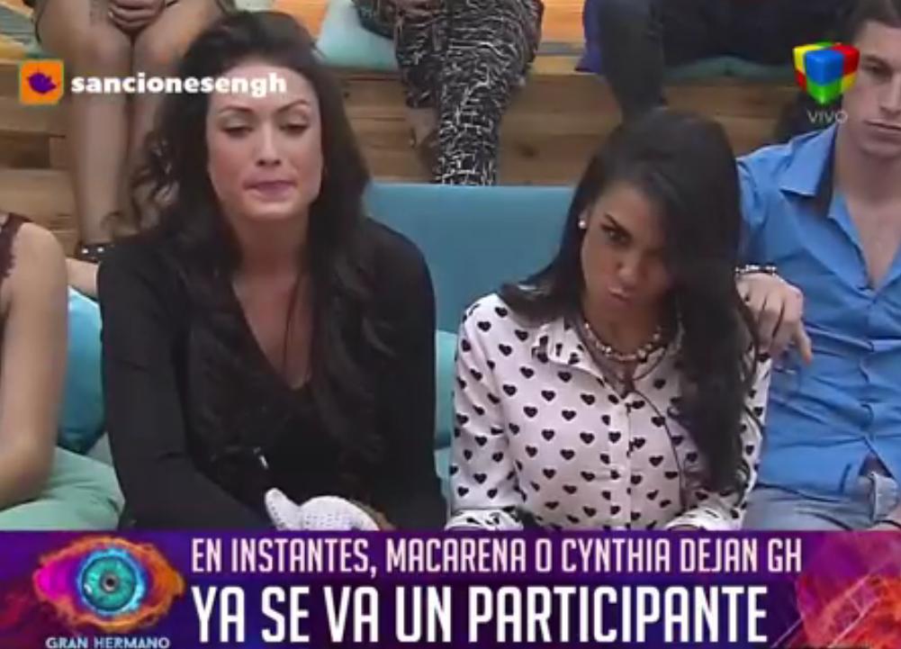 Cynthia Aller, eliminada de Gran Hermano tras competir contra Macarena Pérez