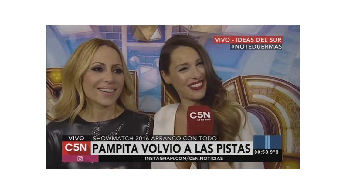 El cruce entre Pampita y Marta Sánchez por el vestuario: La próxima me pongo de blanco como tú