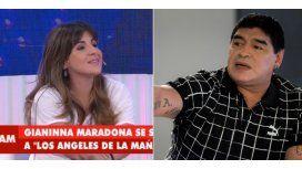 Gianinna Maradona: Yo a mi papá lo perdoné porque estaba enfermo