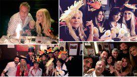 El divertido festejo de cumple de Marley con Susana, Flor Peña, la Negra Vernaci y más
