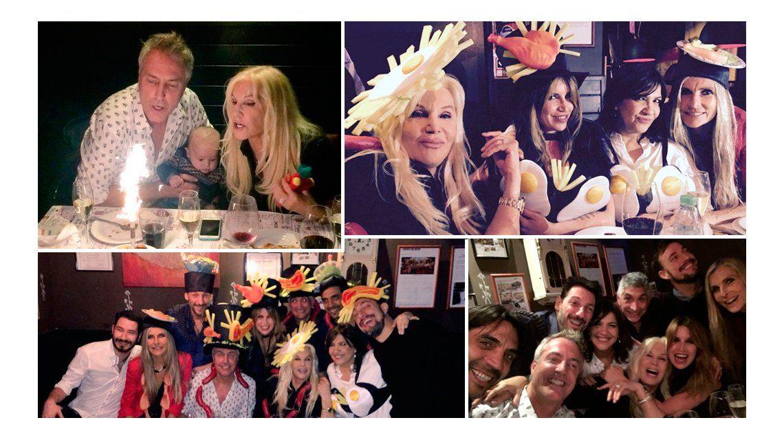 El divertido festejo de cumpleaños de Marley con Susana Giménez, Flor Peña, la Negra Vernaci y más