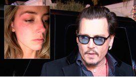 La esposa de Johnny Depp reveló cómo fue la agresión que recibió del actor