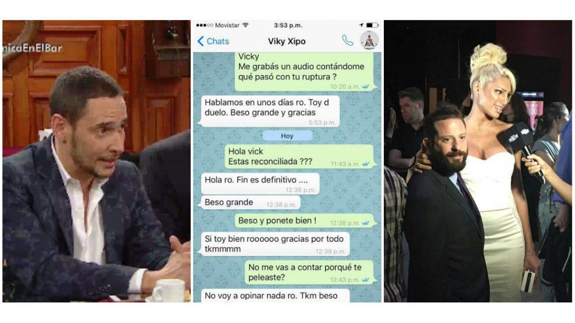 El Whatsapp de Vicky Xipolitakis contra Ottavis después de separarse: El fin es definitivo