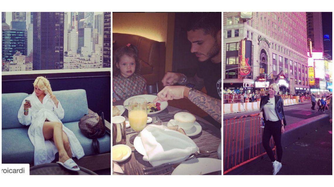 Wanda Nara, de paseos, compras y lujos en Nueva York: todas las fotos