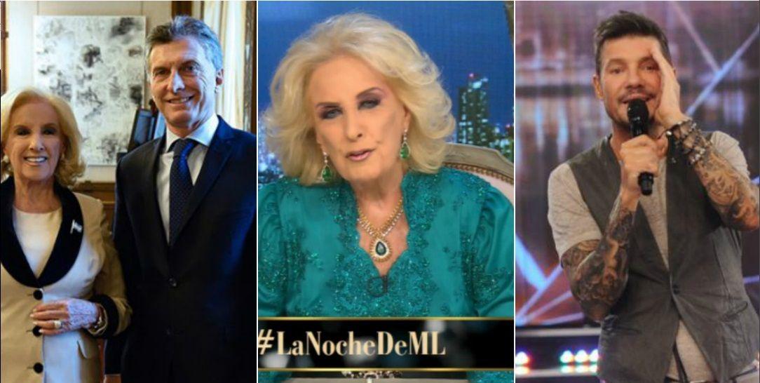 Mirtha Legrand aclaró por qué no pagó la patente de su auto y confundió a Mauricio Macri con Marcelo Tinelli