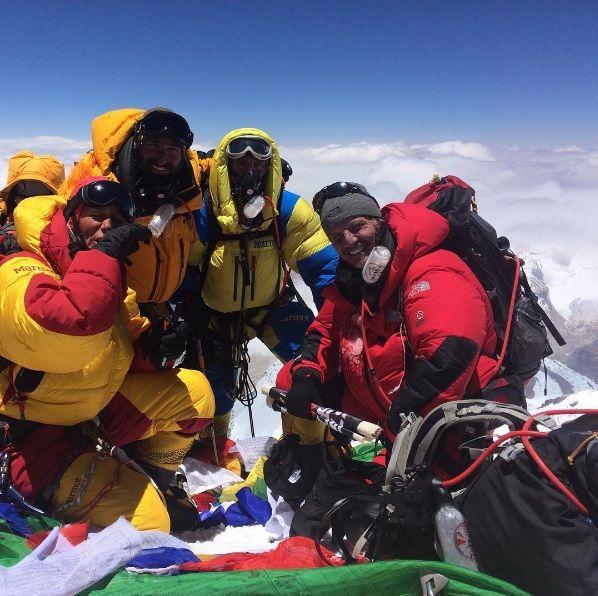 El emotivo mensaje de Facundo Arana tras hacer cumbre en el Everest