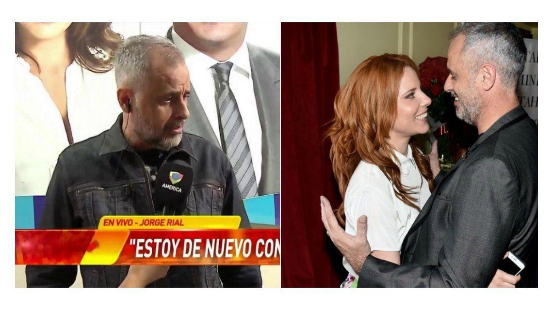 Jorge Rial confirmó la reconciliación con Agustina Kämpfer: Estamos de una nueva manera