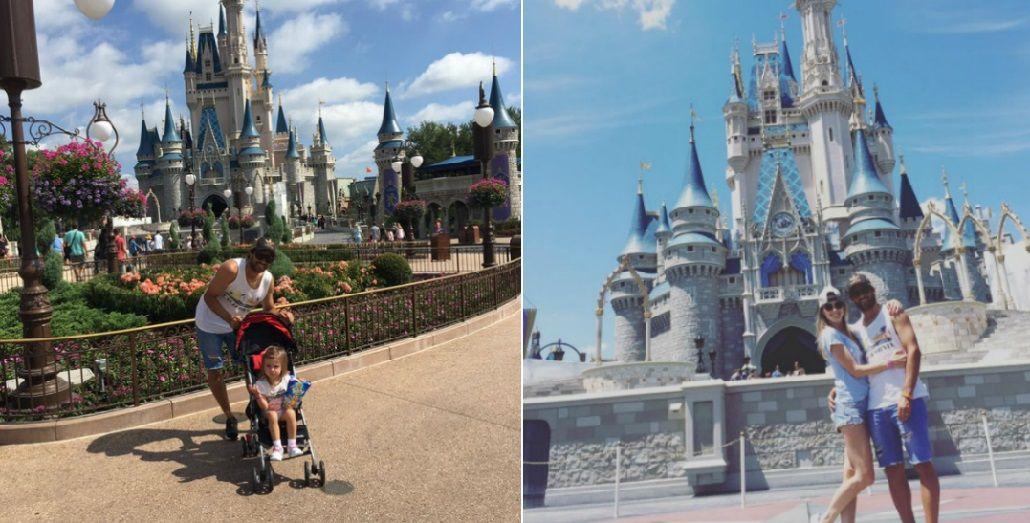 El divertido viaje de Chechu Bonelli y Darío Cvitanich con sus hijas a Disney