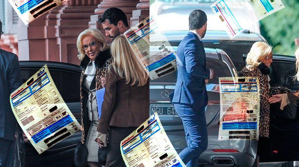 Mirtha Legrand debe casi 40 mil pesos de patentes del auto con el que visitó a Mauricio Macri