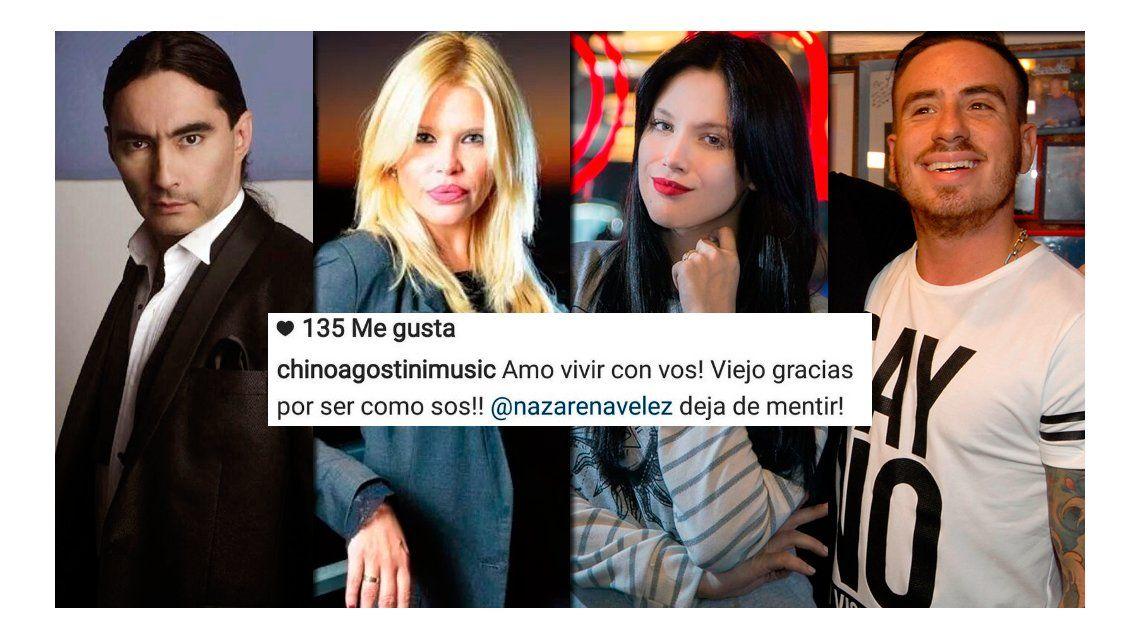 Confuso mensaje del hijo de Nazarena Vélez en medio del escándalo entre Barbie y Fede Bal: Dejá de mentir