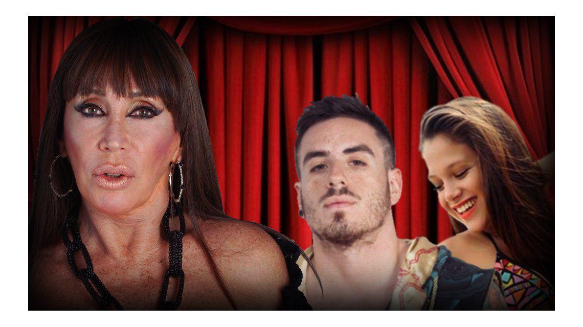 Moria Casán, durísima con Fede Bal y Barbie Vélez: A Romeo y Julieta de cabotaje los atenderé en la pista