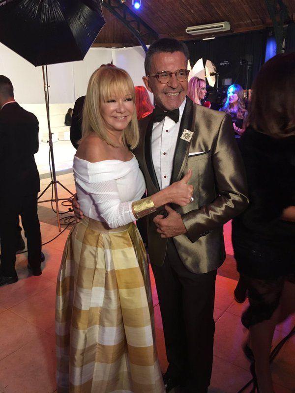 Osvaldo Laport se reencontró con Soledad Silveyra en la Foto del Bailando