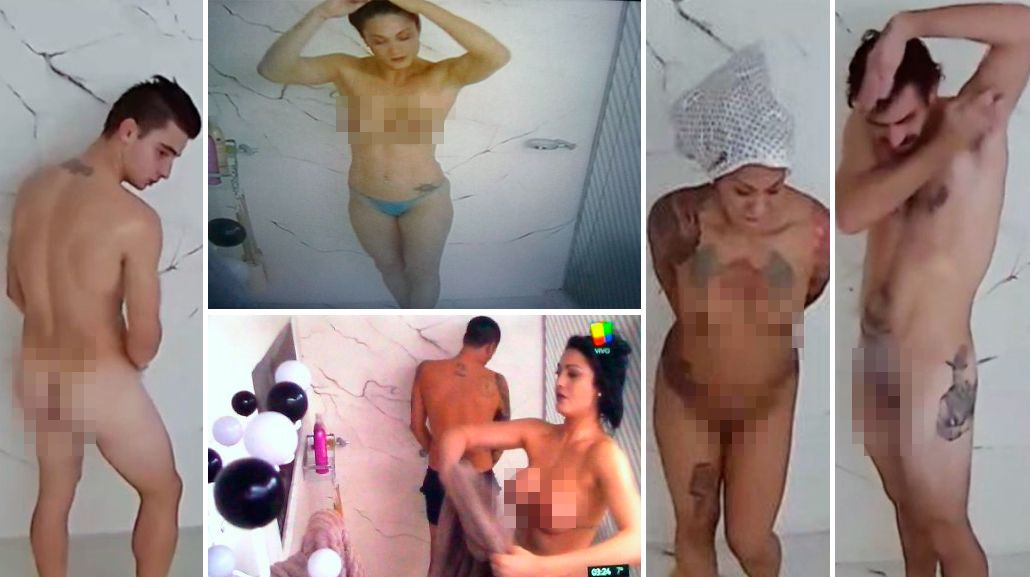 ¡On fire! Los participantes de Gran Hermano ya se bañan desnudos ante las cámaras